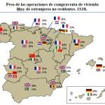 El mercado inmobiliario en España – La cuota de extranjeros sigue aumentando.